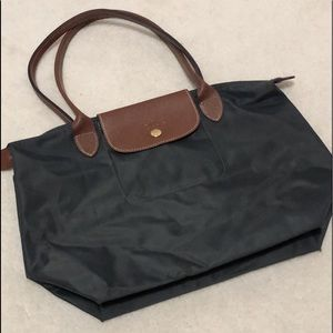 [LONGCHAMP] AUTHENTIC SMALL TOTE IN GREY